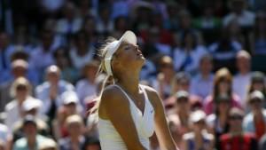 Die einsamen Kämpfe der Tennis-Beauties