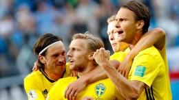 Ein Forsberg-Tor reicht Schweden