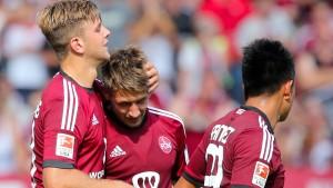 Siege für Nürnberg, Heidenheim und Darmstadt