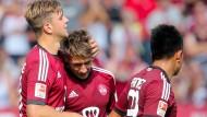 Erfolgreicher Neuanfang in der zweiten Liga: Absteiger Nürnberg besiegt Aue