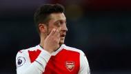 Auch Mesut Özil konnte die Niederlage von Arsenal bei Tottenham nicht verhindern.