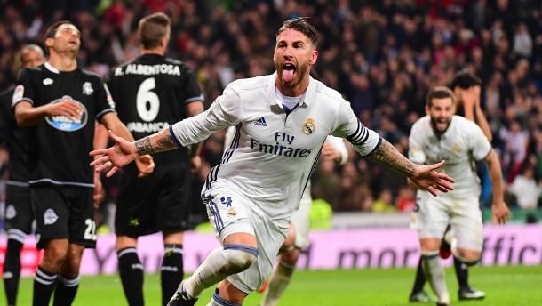Ramos wie Robben, Kritik an Guardiola