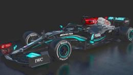 Das ist der neue Mercedes für die Formel 1
