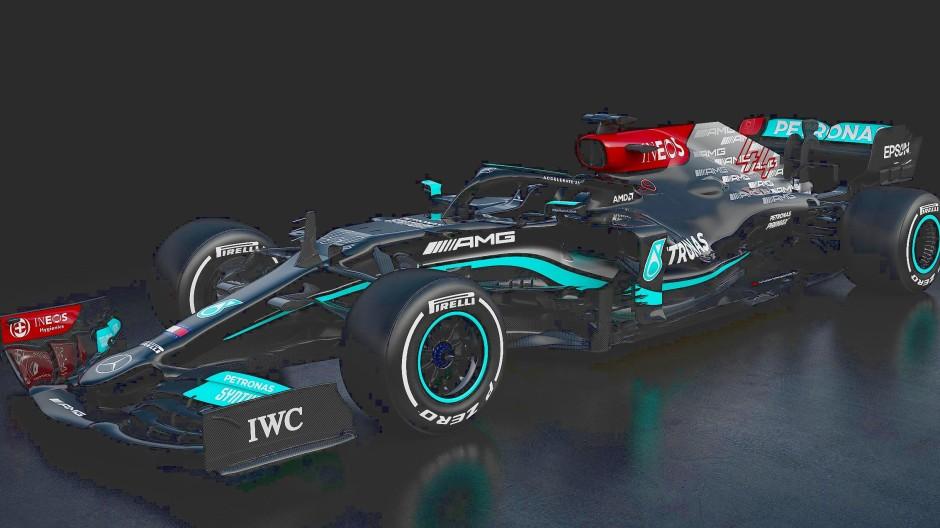 Neue Saison, neues Fahrzeug: Die Silberpfeile präsentieren den Mercedes-AMG F1 W12 E Performance.