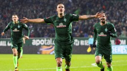 Erster Bremer Sieg dank Kruses Tore-Show