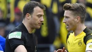 DFB legt Sperre für Dortmund-Kapitän Reus fest