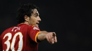 Kein Tor, aber ein Sieg: Luca Toni und AS Rom haben zueinander gefunden