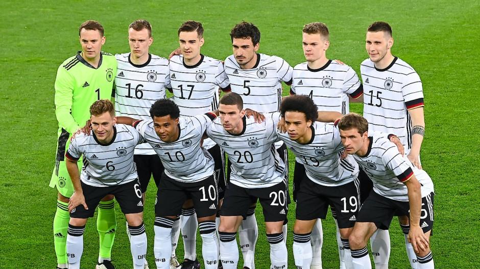 Die deutsche Startelf gegen Dänemark