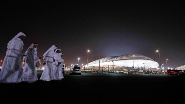 Fünf Coronafälle beim Stadionbau in Qatar