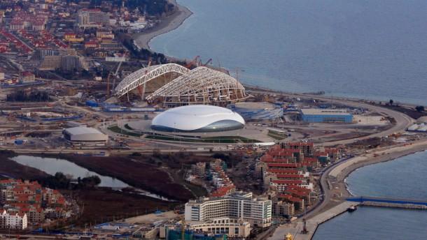 Russland macht Sotschi zur Festung