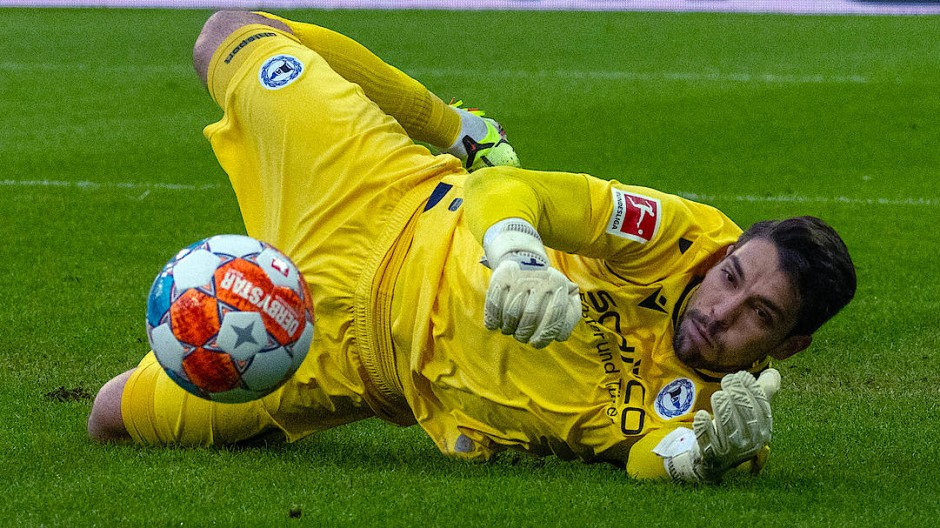 Mit Bielefeld im unteren Tabellendrittel: Torhüter Stefan Ortega