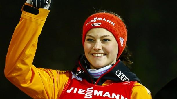 Olympiasiegerin Vogt holt Gold im Herzschlagfinale