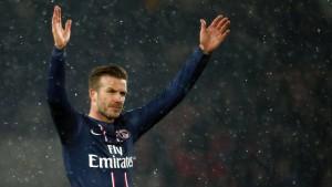 Beckhams eingefrorene Füße
