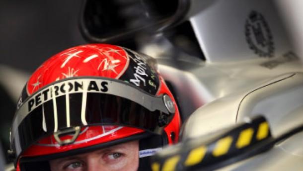 Schumacher gibt den Reifen die Schuld