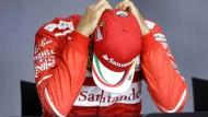 """""""Wenn ich sage, ich glaube etwas nicht, dann glaube ich es auch nicht"""": Sebastian Vettel."""