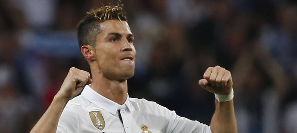 Cristiano Ronaldo Mit 3 Toren Für Real Madrid Gegen Atlético