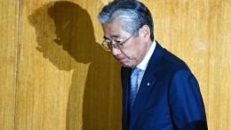 Ein sehr japanischer Rücktritt