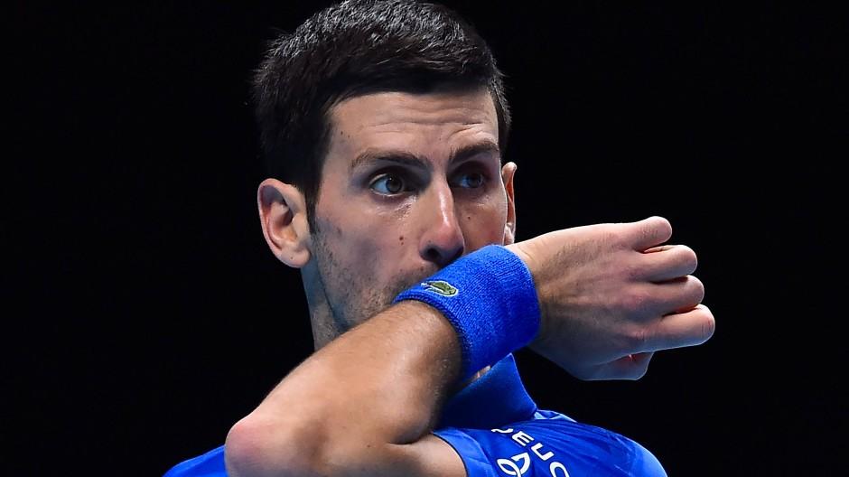 Wie geht es weiter? Auch für Novak Djokovic hält die Zukunft einige Fragen parat.