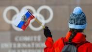 Die russische Flagge wird nicht bei Olympia wehen, aber russische Sportler werden starten.