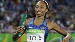 Sprint-Star Allyson Felix kritisiert Nike