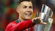 Der nächste Pokal für Cristiano Ronaldo: Portugal gewinnt die Nations League.