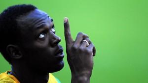 Bolt außer Konkurrenz