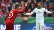 1:0 für die Bayern: Müller trifft