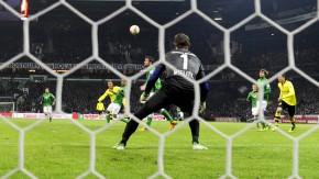 Werder-Torwart Sebastian Mielitz war zu bemitleiden