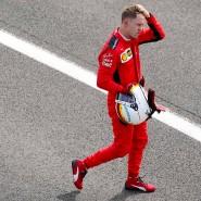Wieder mal ein Wochenende, an dem es nicht rund lief für Sebastian Vettel.