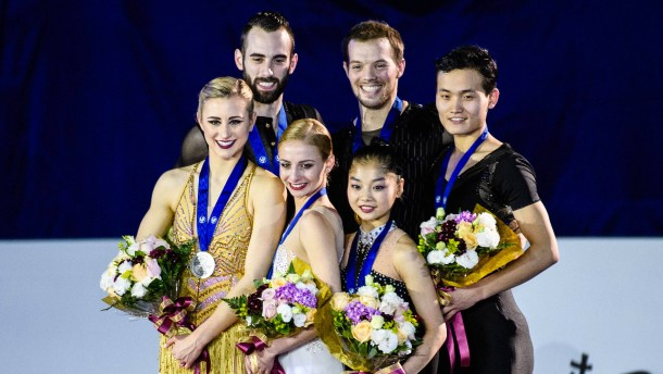 Paar aus Nordkorea holt vor Olympia erste Medaille