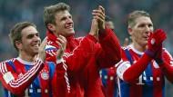 Vorfreude auf das Viertelfinale: Für die Bayern geht es nach Porto