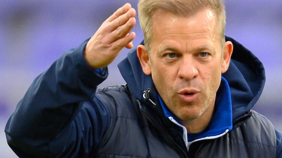 Trainer Markus Anfang ist kein Darmstädter mehr.
