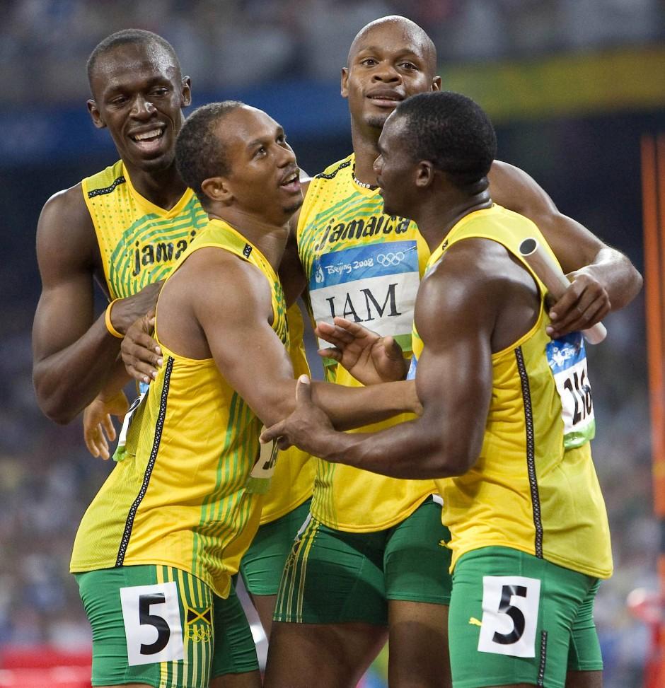 Bild Zu: Usain Bolt Verliert Olympia-Gold Von Staffel 2008