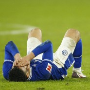 Verzweifelte Blicke bei den Schalkern nach der Niederlage gegen Köln.