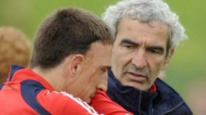 """Domenech sieht """"den Hass, die Verachtung, den Neid"""" in den Augen von Franck Ribéry"""