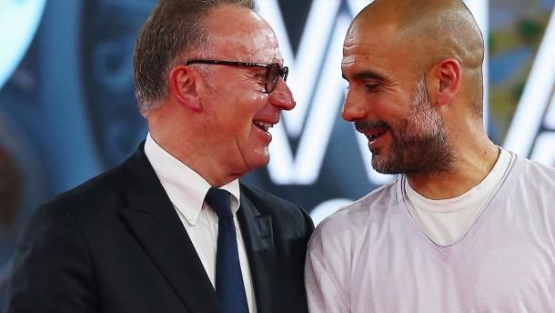 """""""Ich freue mich für meinen Freund Pep Guardiola"""""""