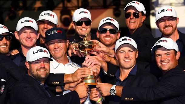 Amerikaner holen sich Ryder Cup zurück