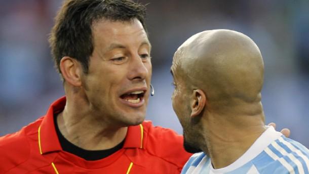 """""""Es gibt keine Anweisungen der Fifa"""""""