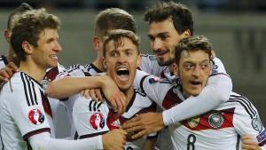 Erst Kruse beruhigt die deutschen Nerven