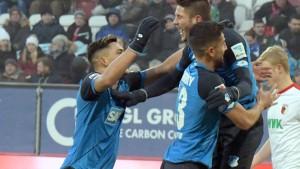 Hoffenheim beendet die niederlagenlose Hinserie siegreich