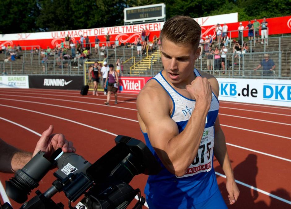 Sprinter Julian Reus Im Gesprach Zum Gluck Habe Ich Keine Vorbilder Mehr Sport Faz