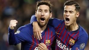 Messi, Messi, Coutinho – Halbfinale