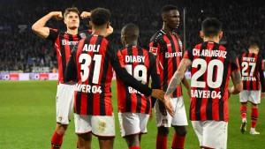 Leverkusen auf dem Weg zur Spitzenmannschaft