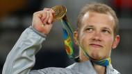 Nach Bronze folgt Silber folgt Gold: Es ist Hambüchens Krönung