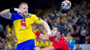 Schwedens Handballparty mit stillem Anführer