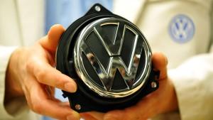 VW plant Werk in Unruheprovinz