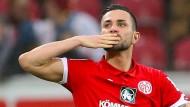 Trotz Fehlstart noch guter Dinge: Mainz-05-Kapitän Danny Latza.