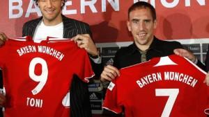 Bayern München stellt Dreamteam vor