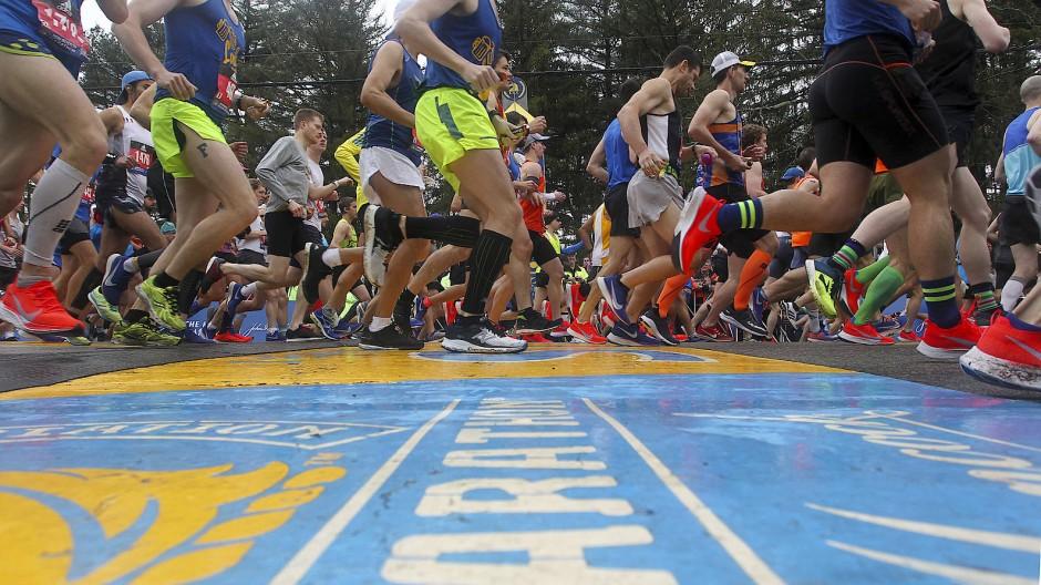 Auf leisen Sohlen: Nicht nur beim Boston Marathon läuft der Betrug mit.