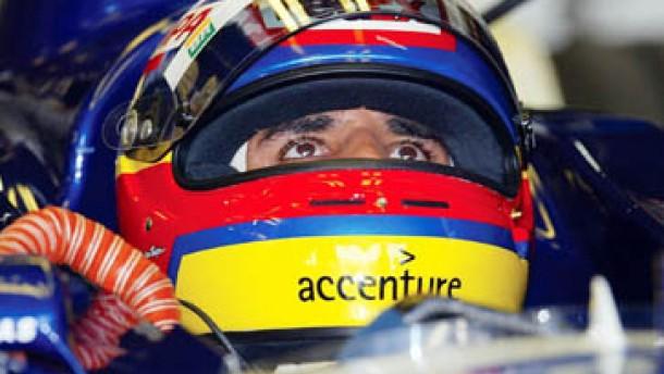 Pole Position für Montoya - Schumacher Zweiter